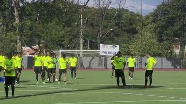 Coxa volta a treinar em Foz do Iguaçu. - Equipe faz a pré temporada para as competições de 2016.