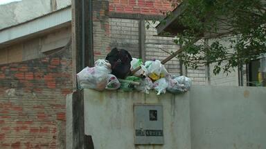 Prefeitura afirma que coleta de lixo volta ao normal em Guarapuava - Na semana passada, nós mostramos o problema do lixo acumulado em vários pontos da cidade.