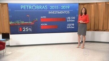 Petrobras anuncia corte de US$32 bilhões nos investimentos - Decisão fez com que as ações da estatal fechassem com a menor coração desde 2004, com queda de mais de 9%.