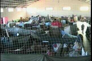 Defesa Civil auxilia famílias a voltarem para casa após cheia em Uruguaiana, RS - Assista ao vídeo.