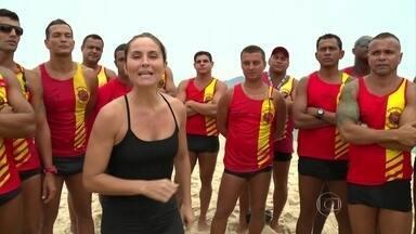 Curso de guarda-vidas no Rio de Janeiro é considerado um dos melhores do mundo - Corpo de Bombeiros utiliza até drone para ajudar nos salvamentos nas praias cariocas