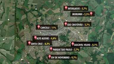LIRAa aponta índice 6,8% de infestação em Cascavel - Maior preocupação fica na região do bairro Cancelli, onde foi registrado 11%.
