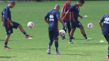 Paraná está pronto para jogo-treino contra a Ferroviária, de Araraquara - Claudinei Oliveira não fez mistério e já começou a formar o time titular para o Campeonato Paranaense