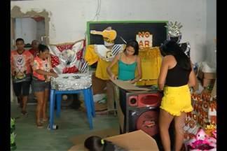 Comunidades da Cremação e Bengui finalizam preparativos para o Carnaval em Belém - Mocidade Unida do Bengui desfilará pela segunda vez no Grupo Especial.