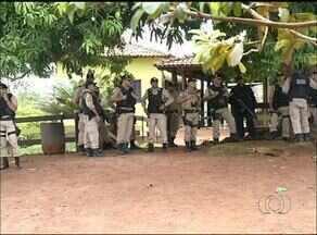 Polícia faz reintegração de posse em fazenda no norte do Tocantins - Polícia faz reintegração de posse em fazenda no norte do Tocantins