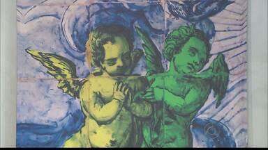 Exposição inspirada nos tradicionais azulejos portugueses é aberta em João Pessoa - 'Chromos' articula técnicas modernas com referências clássicas e está à disposição do público no Centro Cultural São Francisco.