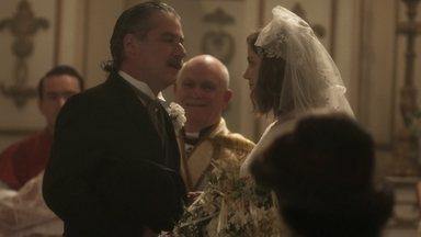 Cecília se casa com Heitor - Milionário nem desconfia de armação de Isabel para desonrar sua noiva