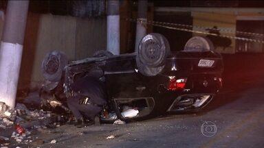 Cinco acidentes em SP deixam seis mortos e dez feridos - Os acidentes foram registrados nas últimas 36 horas em São Paulo. A maiorias das vítimas eram jovens.