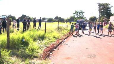 Guarda Municipal retira moradores que invadiram terrenos públicos em Foz - Segundo os moradores, eles esperam há anos as casas da prefeitura.