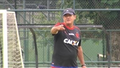 Muricy Ramalho já definiu o time titular do Flamengo para o início da temporada - Treinador comandou atividade na Gávea e repetiu o time que escalou em Mangaratiba