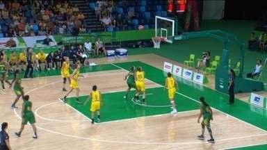 Brasil perde para a Austrália na final do Torneio Internacional feminino de basquete - Evento serve como teste para as Olimpíadas do Rio.