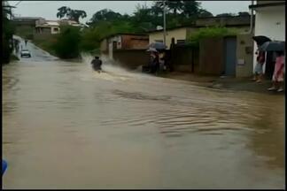 Prefeitura de Carmo da Mata alerta população sobre risco de inundações - Nível do Córrego Bom Jesus subiu um metro e meio em 24 horas. Vítimas precisam relatar casos a Prefeitura e à Polícia Militar.