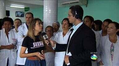 Médicos da rede Municipal de Saúde de Aracaju iniciam paralisação - Médicos da rede Municipal de Saúde de Aracaju iniciam paralisação.