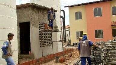Setor de construção civil no Ceará está estagnado - Parte das obras no estado está parada ou atrasada.