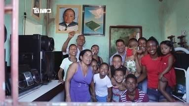 Com 23 filhos, família uberlandense é a maior da cidade - Lembrar o nome de todos os filhos é uma dificuldade.
