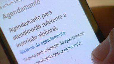 Eleitores relatam dificuldades no agendamento de cadastro de biometria, em Manaus - Site do Tribunal Regional Eleitoral é a única forma de viabilizar programação.