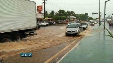 Chuva alaga ruas de municípios na região do Cariri - Aeroporto de Juazeiro do Norte chegou a fechar na quinta-feira (21).