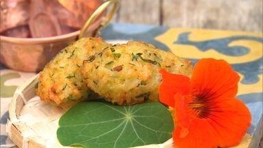 Reprise: Aprenda receita de bolinho de arroz com pequi - Petisco é delicioso