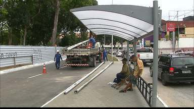 Trânsito na Lagoa vai mudar a partir deste sábado - Os ônibus vão passar a circular pelo anel externo.