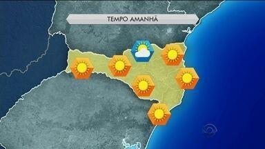 Domingo (24) deve ser ensolarado em SC; confira a previsão do tempo - Domingo (24) deve ser ensolarado em SC; confira a previsão do tempo