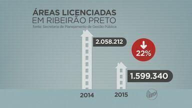Construção civil registra queda de 22% em 2015 em Ribeirão Preto - Setor enfrenta o pior resultado nos últimos seis anos.