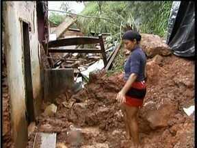 Em Teófilo Otoni, 600 pessoas estão desalojadas por causa das chuvas - Nos últimos 5 dias, choveu cerca de 240 milímetros, quantidade esperada para 2 meses.