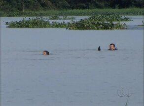 Bombeiros encerram dia de buscas por estudante desaparecido em lago - Bombeiros encerram dia de buscas por estudante desaparecido em lago