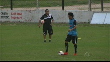 Botafogo-PB se prepara para enfrentar o Nautico na tarde deste sábado - Novo reforço chega à Maravilha do Contorno e se junta ao time que está fazendo a pré-temporada.