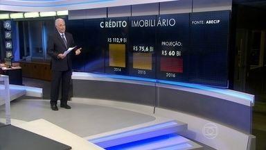 Brasileiros emprestaram R$ 75 bilhões para comprar ou construir imóveis em 2015 - Em 2015 os brasileiros tomaram R$ 75 bilhões emprestados para comprar ou construir imóveis. Isso significa uma queda de 33% na comparação com 2014.