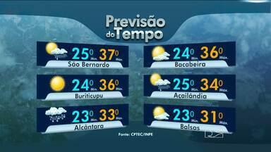 Veja a previsão do tempo para esta quarta-feira (27) - Veja a previsão do tempo para esta quarta-feira (27)