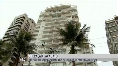 Lava Jato investiga relação entre o ex-presidente Lula e um apartamento de luxo no Guarujá - Suspeita é que os imóveis tenham sido usados como pagamento de propina por vantagens ilícitas em contratos com a Petrobras.