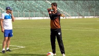 Com Marcelo Rangel como titular, Londrina se prepara para estreia - Goleiro ficou com a vaga do ex-titular Vítor. Estreia é domingo contra o PSTC no Estádio dos Pássaros, em Arapongas