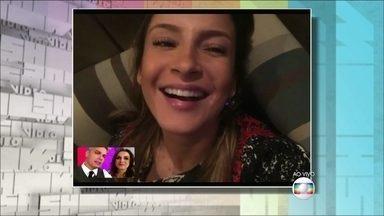 Claudia Leitte comenta gafe no The Voice Kids - Cantora elogia a amiga Ivete Sangalo e diz que se diverte com a inocência da criança