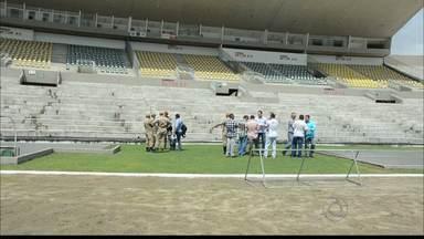 Almeidão é liberado para os Jogos do Campeonato Paraibano - O estádio do Almeidão em João Pessoa recebeu hoje a garantia de liberação do local para a realização dos jogos do campeonato paraibano de 2016.