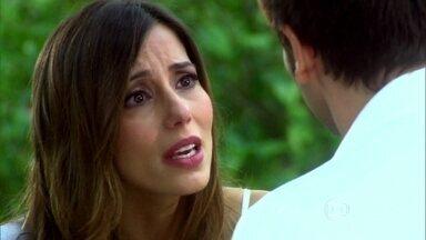 Duda procura Lucas para fazer as pazes - Lucas diz que está inseguro em relação a Raj