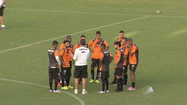 Vitória faz penúltimo treino antes da estreia no Campeonato Baiano - Time se prepara para enfrentar a Jacuipense no Barradão neste fim de semana.