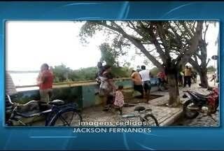 Nível de água aumenta no Rio São Francisco e atrai população ribeirinha - Última vez que o rio apresentou cheia foi em 2012.