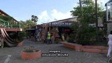 Mercado do Artesanato de Maceió vai ser leiloado - Prédio onde funciona o Mercado do Artesanato será leiloado. Notícia pegou comerciantes de surpresa.