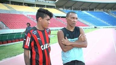 Atacante do Sub-20 desponta no futebol no Maranhão - Atacante do Sub-20 desponta no futebol no Maranhão.