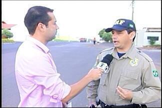 PRF inicia operação de carnaval em Araxá - Segundo inspetor Cláudio Emerson, foco é prevenir acidentes. Ele ressaltou que o trevo entre Ibiá e Luz é um dos mais críticos.