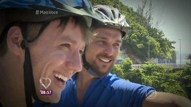 Igor Rickli pedala em nova ciclovia do Rio de Janeiro - Ciclovia Tim Maia liga São Conrado ao Leblon e já é considerada uma das mais lindas do mundo