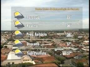 Carnaval começa com calor na região de Presidente Prudente - Confira como fica a previsão do tempo para este sábado (6) no Oeste Paulista.