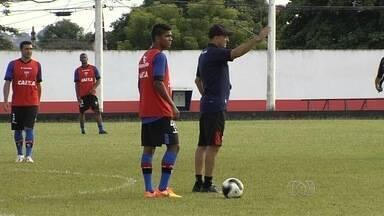 De olho na terceira vitória, Atlético-GO visita o Itumbiara, que promete reagir - Embalado por boas atuações nas duas primeiras rodadas, Dragão quer seguir 100% e joga neste sábado contra o Gigante da Fronteira, que vem de empate com Anapolina.