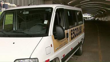Saiba como identificar vans escolares que estão dentro da lei - Em 2015, 15 veículos foram apreendidos em Ponta Grossa por diversas irregularidades