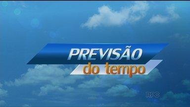 Domingo deve ter pancadas de chuva em Curitiba e nas praias - O sol deve aparecer entre nuvens. A máxima no litoral deve chegar aos 30ºC.