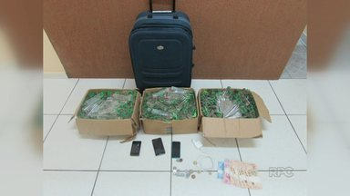 Polícia apreende 360 frascos de lança-perfume em Guarapuava - Duas pessoas estão presas