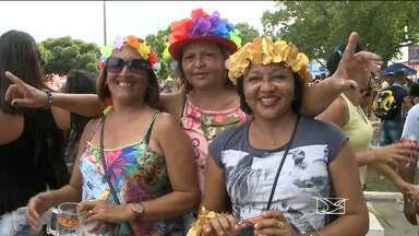 Foliões participam de carnaval em Pinheiro, MA - Foliões participam de carnaval em Pinheiro.