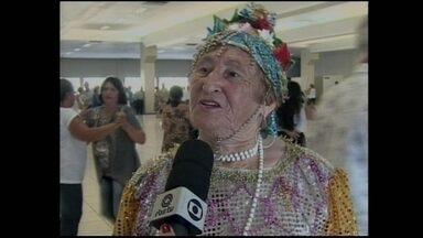 'Carnaval dos Idosos' é atração a parte em Chapecó - 'Carnaval dos Idosos' é atração a parte em Chapecó