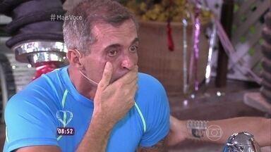 Paulo Barros se emociona ao ser recebido no 'Mais Você' - Carnavalesco da Portela confessa que segurou a emoção por horas