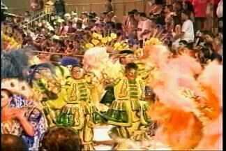 Milhares de pessoas participam do desfile de rua do Carnaval de São Borja, RS - Assista ao vídeo.